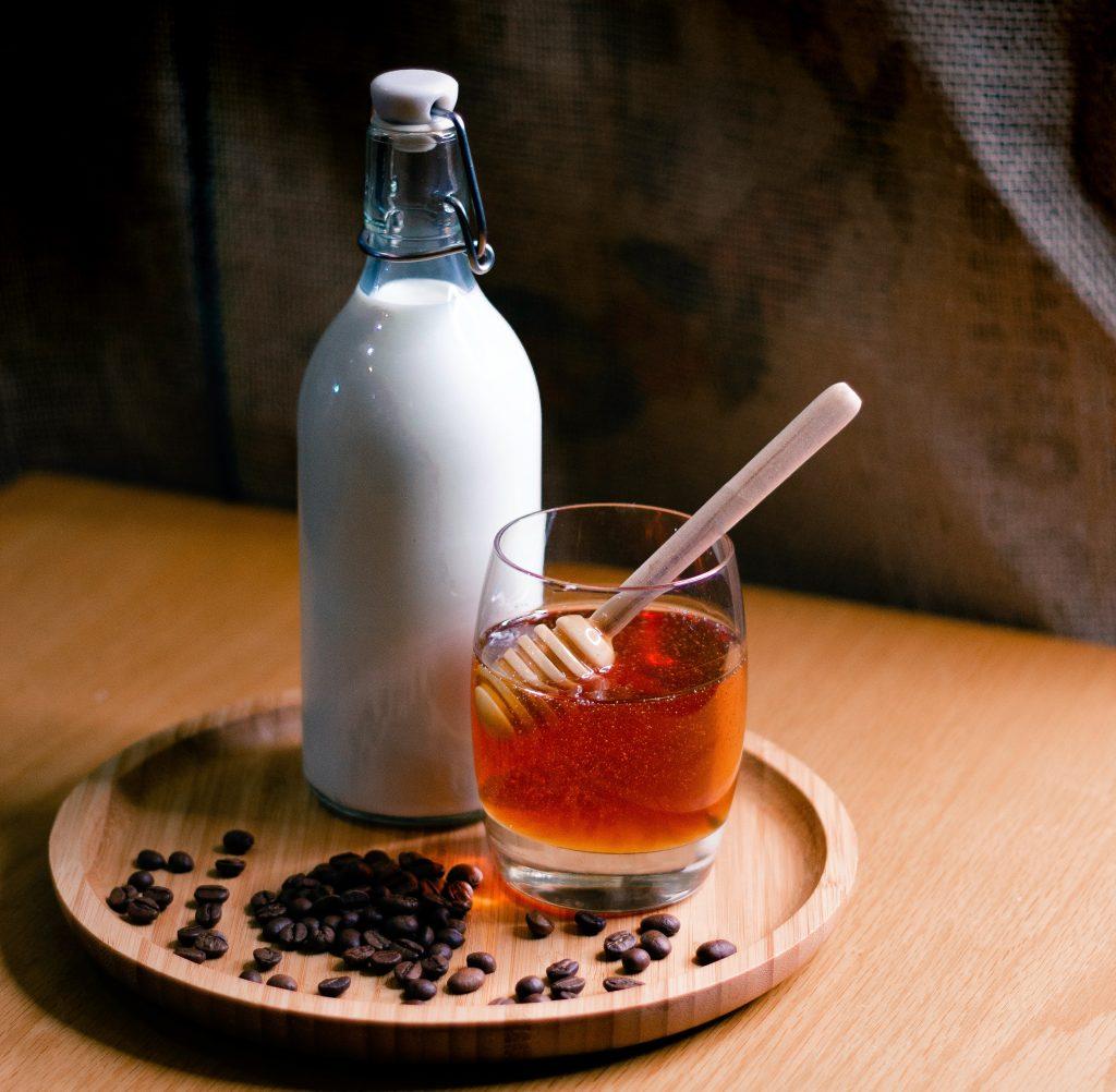 recette lait miel cheveux